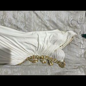 Jovani white dress